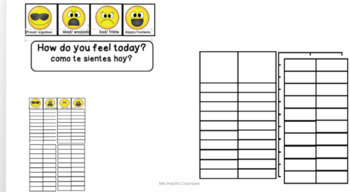 Social Emotional: Daily Feelings Graph