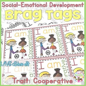 Social-Emotional Growth Development Brag Tags