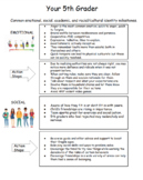 Social-Emotional Developmental Milestones (3-5)