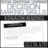 Social Emotional Distance Learning - Decision Making Skills