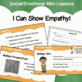Social Emotional Executive Functioning Elementary - I Can Show Empathy