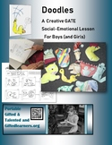 "Social-Emotional GATE for BOYS -- ""Doodles Creativity and Storytelling"" 2nd-5th"