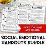 Social Emotional Handout Bundle | Emotion Games | Growing Bundle