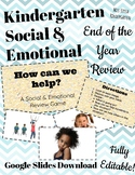 Social Emotional Health Review Game - CFU Formative Assessment