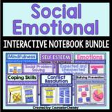 Social Emotional Interactive Notebook Activities Bundle