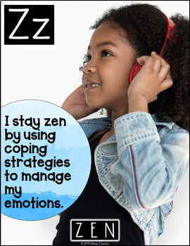 Social Emotional Learning ABCs Posters