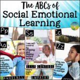 Social Emotional Learning ABCs Posters - Distance Learning