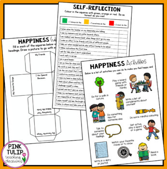 Social Emotional Learning Activities - 40 creative printable activities