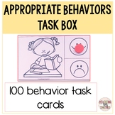 Social Emotional Learning Activities: Appropriate Behaviors