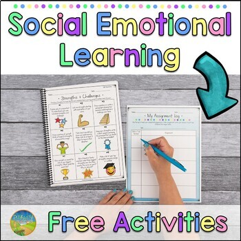 Social Emotional Learning Activities - Distance Learning and Google Classroom