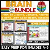 Social Emotional Learning Activities   Mental Health   Brainy BUNDLE
