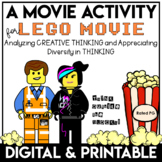 Social Emotional Learning Activities | Movie Guide | LEGO Movie Themed Guide