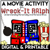 End of the Year Movie Activities Wreck It Ralph   Social Emotional Learning