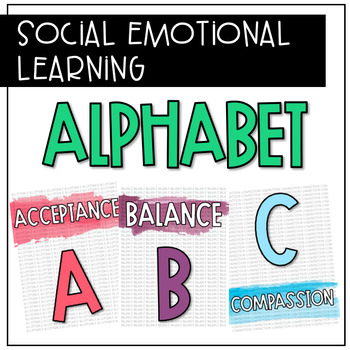 Social Emotional Learning Alphabet