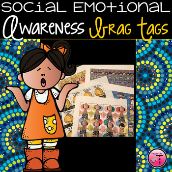 Social & Emotional Learning Brag Tags ~Growth Mindset~