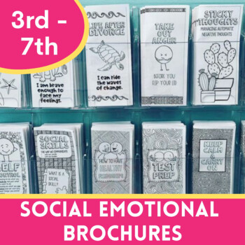 Social Emotional Brochures for 3-8th