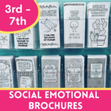 Social Emotional Learning Brochures for 3-8th