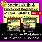 Social Emotional Learning Mega Bundle for Middle School an