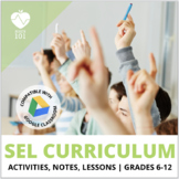 Social Emotional Learning (SEL)/ Mental Health Activities