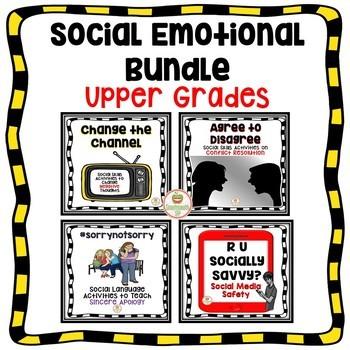 Social Skills Activities Social Emotional Learning Bundle