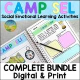 Social Emotional Learning Camp SEL   Activities & Worksheets   Spring & Summer