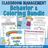 Social & Emotional Learning Coloring Bundle - Kindness & Classroom Community
