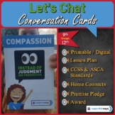 Social Emotional Learning - Compassion - Instead Of Judgme