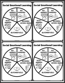 Social Emotional Learning Competencies - Poster Set