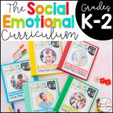 Social Emotional Learning Curriculum K-2 Activities BUNDLE