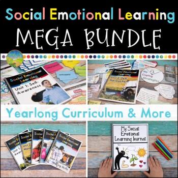 Social Emotional Learning Curriculum MEGA Bundle