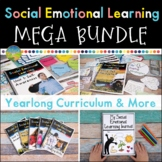 Social Emotional Learning Curriculum MEGA Bundle - Print and Distance Learning