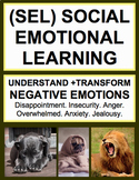Social Emotional Learning Activities: Emotions Unit