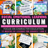 Social Emotional Learning Curriculum for 1st and 2nd Grade