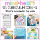 Social Emotional Learning Curriculum for K-2 for a Positive Classroom Community