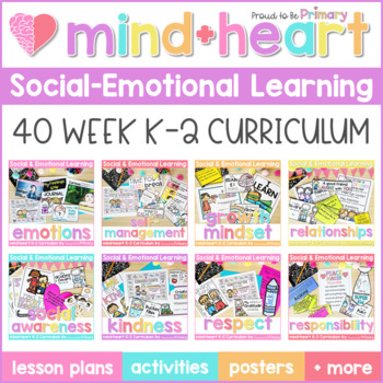 Social Emotional Learning, Social Skills, & Character Education Curriculum