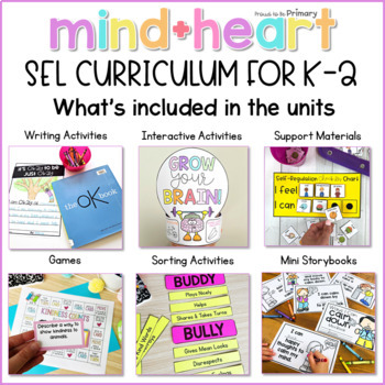 When Adding Sel To Curriculum >> Social Emotional Learning Social Skills Character Education Curriculum K 2