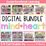 Social Emotional Learning SEL DIGITAL 3-5 Curriculum BUNDL