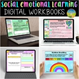 Social Emotional Learning Digital Workbook MEGA BUNDLE | Google Classroom