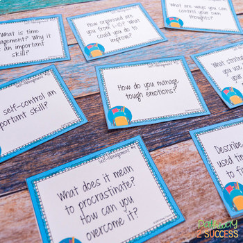 Social Emotional Learning Task Cards