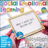 Social Emotional Learning Task Cards - Distance Learning