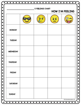 Social Emotional Learning: Emoji Feelings Recognition Activities