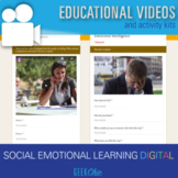 Social Emotional Learning Emotions and Feelings DIGITAL GOOGLE APPS VIDEO LESSON