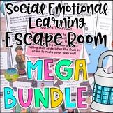 Social Emotional Learning Escape Room Mega Bundle | SEL Activities
