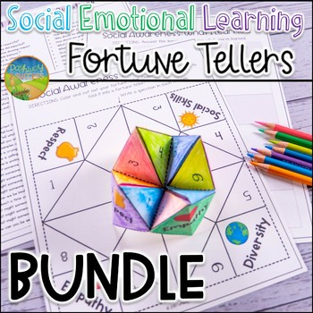 Social Emotional Learning Fortune Teller Bundle
