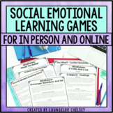 Social Emotional Learning Games For In Person & Virtual Lessons