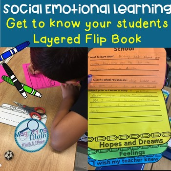 Social Emotional Learning Getting to Know You Layered Flip-Book