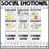 Social Emotional Learning Growing Bundle
