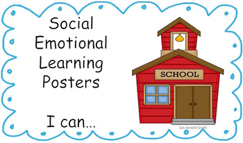 Social Emotional Learning I can ... Statements