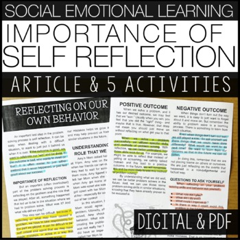 Social Emotional Learning | Importance of Self-Reflection