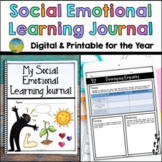 Social Emotional Learning Journal - SEL Skills Digital Dis
